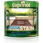 Paint Cuprinol Anti Slip Decking Woodstain Grey 2.5L