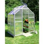 Fristående växthus Metalcraft Small Greenhouse 2.2m² Aluminium Plast
