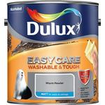 Paint Dulux Easycare Washable & Tough Matt Wall Paint, Ceiling Paint Grey 2.5L