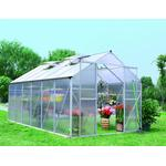 Fristående växthus Metalcraft Greenhouse 10.7m² Aluminium Plast