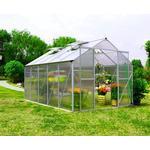 Fristående växthus Metalcraft Greenhouse 8.9m² Aluminium Plast