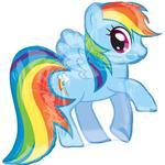 Folieballong Amscan Foil Ballon SuperShape My Little Pony