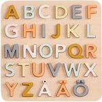 Knoppussel Kids Concept ABC Wooden Pussel