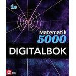 Naturvetenskap & Teknik Böcker Matematik 5000 Kurs 1c Blå Lärobok Digital (Övrigt format, 2014)