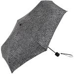 Mini paraply Marimekko Pirput Parput Mini Manual Umbrella Black/White (038655)