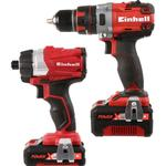 Borrmaskin Einhell Power X Change Twin Pack