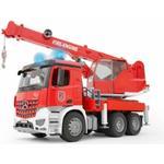 Lorry Bruder MB Arocs Fire Service Crane