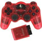 Spelkontroller ZedLabz Wireless RF Double Shock Vibration Controller - Red