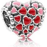 Smycken Pandora Burst of Love Silver Charm (796557ENMX)