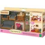 Doll-house Furniture Sylvanian Families Deluxe Living Room Set