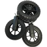 Barnvagnsdelar Barnvagnstillbehör Emmaljunga Hjulpaket Air Outdoor 4p