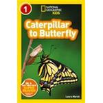 National Geographic Kids Readers: Caterpillar to Butterfly (Häftad, 2013)