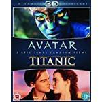 Avatar bluray Filmer Avatar / Titanic Double Pack (Blu-ray 3d (Blu-Ray)