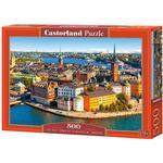 Sverige pussel Castorland The Old Town of Stockholm Sweden 500 Pieces