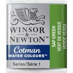 Akvarellfärg Winsor & Newton Cotman Water Colours Green Half Pan