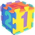 Golvpussel Bieco Puzzle Mat 10 Pieces