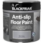 Floor Paint Blackfriar Professional Polyurethane Floor Paint Grey 1L