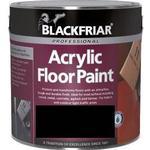 Floor Paint Blackfriar Professional Acrylic Floor Paint Black 1L