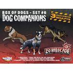 Zombiespel Sällskapsspel Guillotine Games Zombicide: Box of Dogs Set #6: Dog Companions