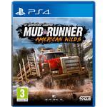 Ps4 mudrunner PlayStation 4-spel Spintires: MudRunner - American Wilds Edition