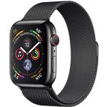 Apple Watch Series 4 - Smart Watches Apple Watch Series 4 Cellular 44mm Stainless Steel Case with Milanese Loop