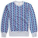 Sweatshirts Herrkläder Champion Allover C Logo Print Reverse Weave Sweatshirt - Light Grey