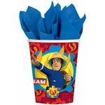 Pappersmuggar Amscan Paper Cup Fireman Sam 2017 250ml 8-pack