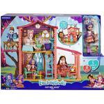 Doll-house Furniture Mattel Enchantimals Cozy Deer House Playset