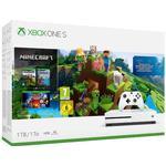 Minecraft Spelkonsoler Microsoft Xbox One S 1TB - Minecraft