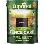 Paint Cuprinol Less Mess Fence Care Wood Protection Black 6L