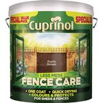 Paint Cuprinol Less Mess Fence Care Wood Protection Brown 6L