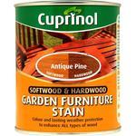 Paint Cuprinol Softwood & Hardwood Garden Furniture Woodstain Brown 0.75L