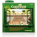 Paint Cuprinol UV Guard Decking Oil Brown 2.5L