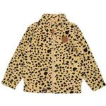 Mini Rodini Fleece Spot Jacket - Beige (1971010013)