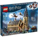 Lego på rea Lego Harry Potter Stora Salen på Hogwarts 75954