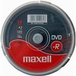 CD/DVD/BD-media Maxell DVD-R 4.7GB 16x Spindle 10-Pack (275730)