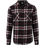 Urban Classics Checked Flanell Shirt 3 - Black/White/Red