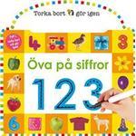 Board book Böcker Öva på siffror (Board book)