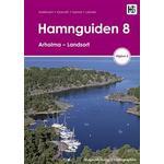 Svenska - Resor Böcker Hamnguiden 8 Arholma - Landsort (Spiral)