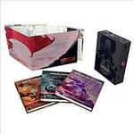Böcker Dungeons & Dragons Core Rulebooks Gift Set (Special Foil Covers Edition with Slipcase, Player's Handbook, Dungeon Master's Guide, Monster Manual, DM S (Inbunden, 2018)