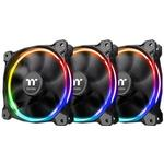 120mm fläkt Datorkylning Thermaltake Riing 12 LED RGB 120 mm Three Pack