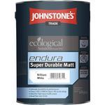 Cement Paint Johnstone's Trade Ecological Endura Super Durable Matt Cement Paint White 5L