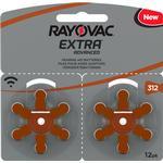 Batterier & Laddbart Rayovac Extra Advanced 312 12-pack