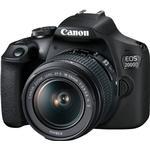 Digital SLR Canon EOS 2000D + EF-S 18-55mm f/3.5-5.6 III