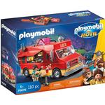 Toy Food Playmobil The Movie Del's Food Truck 70075