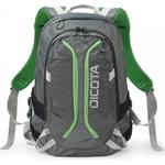 "Datorväskor Dicota Backpack Active 15.6"" - Gray/Lime"