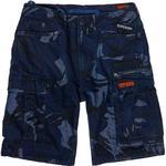 Herrkläder Superdry Parachute Cargo Shorts - Indigo Outline Camo Badge