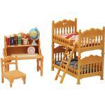 Doll-house Furniture Sylvanian Families Children's Bedroom Set