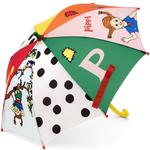 Barnparaply Micki Pippi Umbrella Muticolor (44377400)