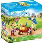 Playmobil City Life Grandmother with Child 70194
